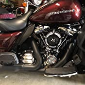 Deep edge cut Inverted air intakes for harley touring FLHX FLHR FLHT FLTR 2017-2019 air cleaners for harley Softail fatboy 2018-2019