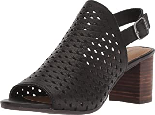 Lucky Brand Womens Verazino Woven Open Toe Slingback Sandals