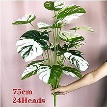 JIAN 75 cm 24heads tropische monstera planten grote kunstmatige palmboom plastic groene bladeren nep schildpad fit for thu...