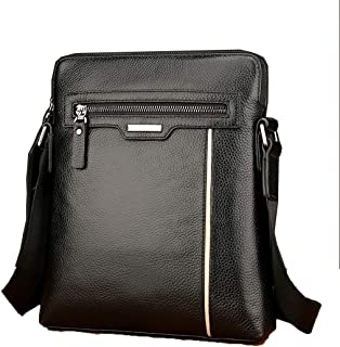 Business Bag Leather Men's Laptop Bag Slung Shoulder Bag Bag Leather Cowhide