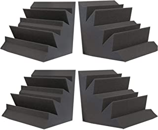 Foamily Acoustic Foam XL Bass Trap Studio Soundproofing Corner Wall 12