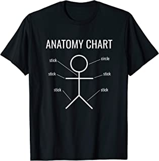Best anatomy t shirts funny Reviews