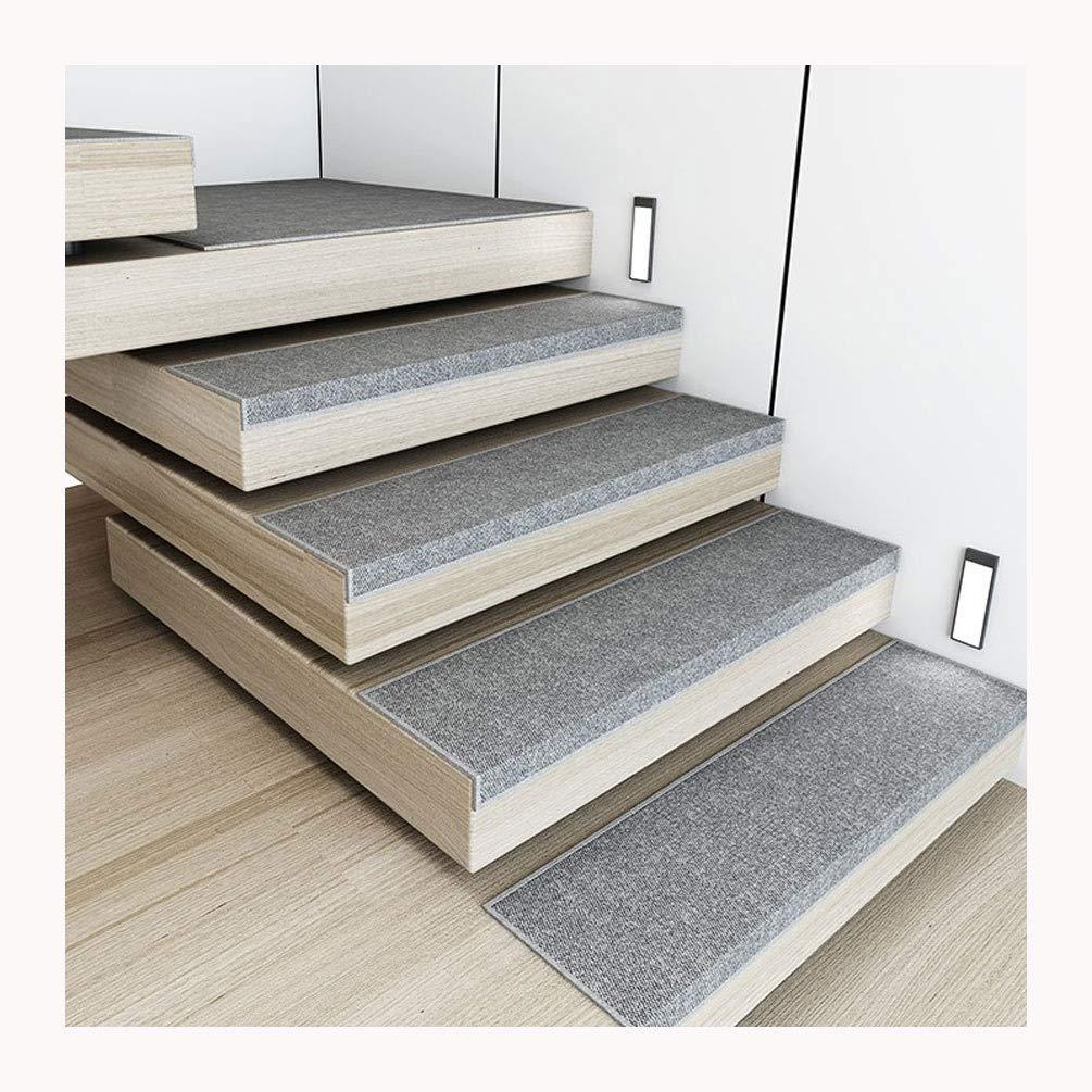 By Alfombrillas para Escaleras,Conjunto De 15 Silencioso Alfombrillas para Peldaños Alfombras para Peldaños Alfombrillas Escaleras Rectangular (75X26cm) (Color : Light Grey, Size : X1 30x85cm): Amazon.es: Hogar