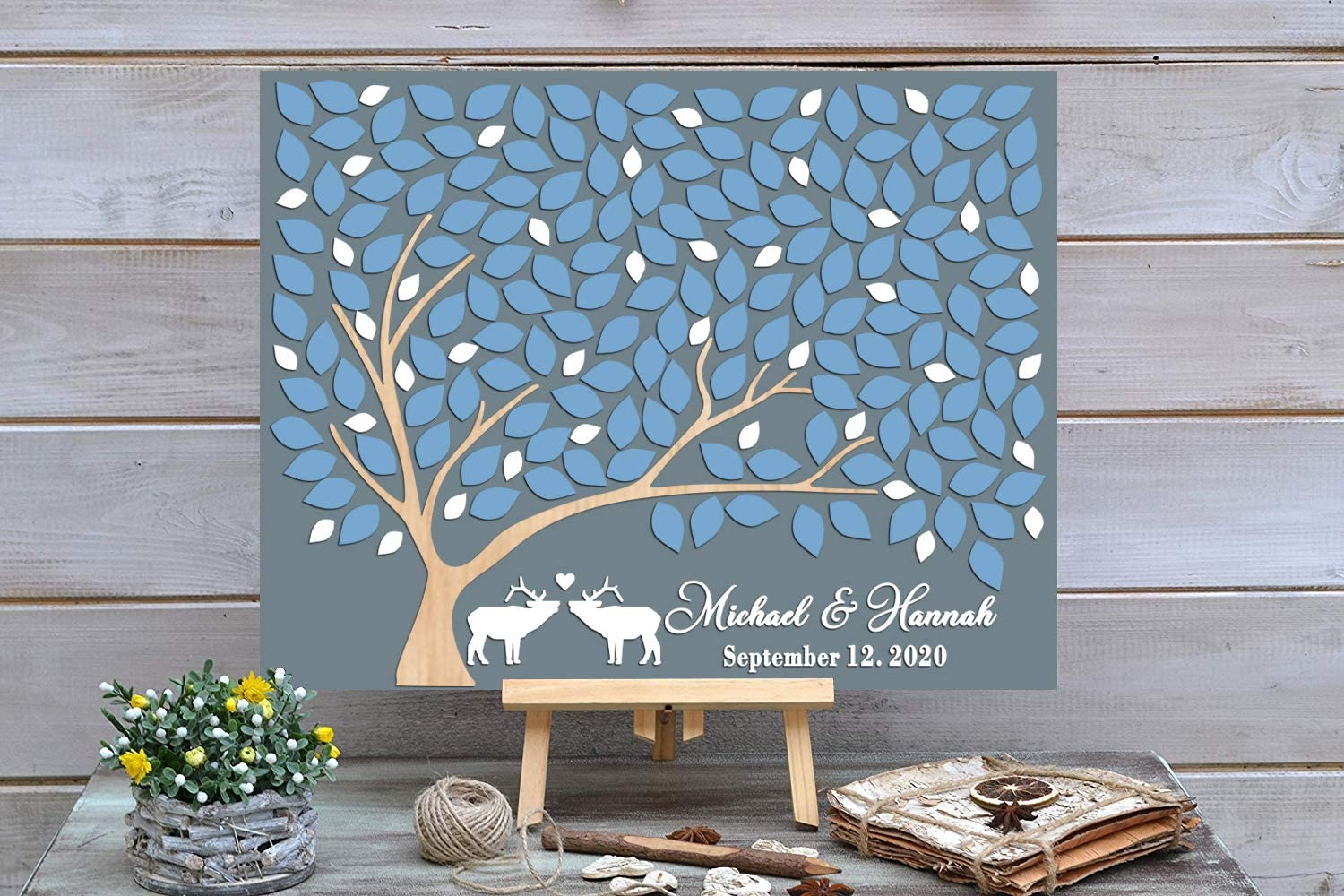 PotteLove 3D Animal Theme 2021new shipping free shipping Wedding Custo Book - Alternative Deluxe Guest