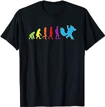 Furry shirt Human Evolution Fursona Women Men Kids Shirts