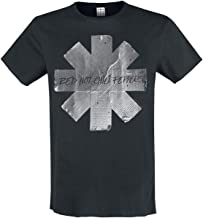 Red Hot Chili Peppers Amplified Collection - Duct Tape Hombre Camiseta Negro, Regular
