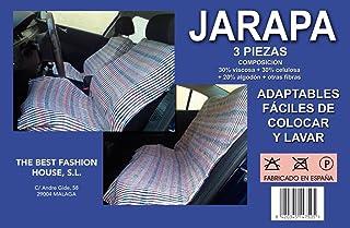 The Best Fashion House Jarapa harapa 3 Piezas Funda Asiento Coche Universal
