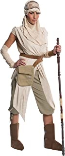 Rubie's Women's Star Wars Episode VII: The Force Awakens Grand Heritage Rey Costume, Multi, Small