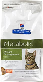 Hill'S Prescription Diet Feline Metabolic Advanced Weight Solution Dry Cat Food, 4-Lb Bag