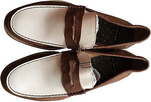Paul Smith Ps Sammlung Hellbraun Leder Mancini Schuhe UK 7,5 EU 41.5