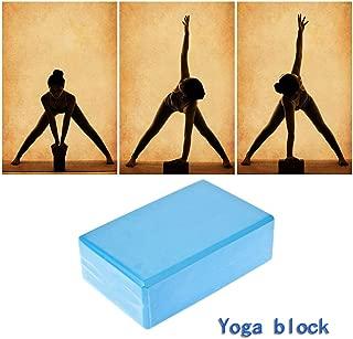 KinshopS Eva Bloque de yoga ladrillo Pilates Deportes Ejercicio Gimnasio EVA Ejercicio Accesorios