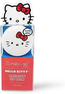 The Crème Shop x Sanrio Macaron Lip Balm (Hello Kitty Mixed Berry) Korean Cute Scented Pocket Portable Soothing Advanced M...