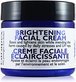 Carapex Brightening Face Cream | Natural Skin Lightening Cream for Sensitive Skin | Treat Scars, Acne Marks, Dark Spots, Uneven Skin Tone and Skin Discolorations | Fragrance Free 2 oz