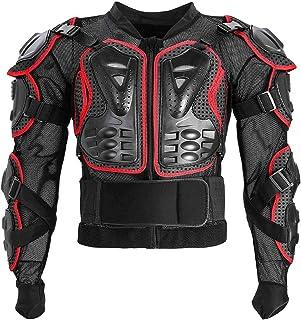 Jaqueta protetora de corpo inteiro para motocicleta BESPORTBLE, proteção contra colisão e motos de motocross para corrida ...