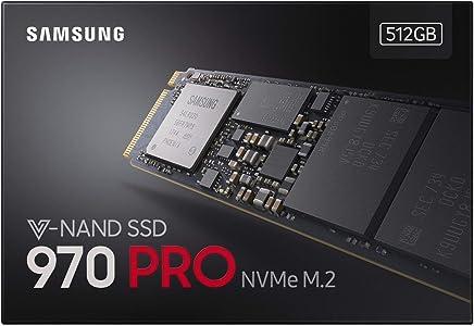 Samsung MZ-V7P512BW SSD 970 PRO 512 GB, M.2, NVMe, Nero/Rosso