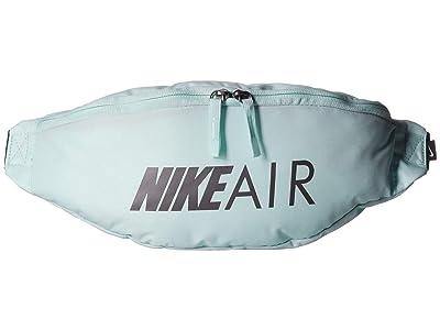 Nike Heritage Air Hip Pack (Teal Tint/Black/Metallic Dark Grey) Travel Pouch