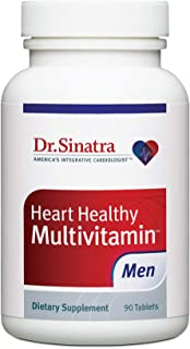 Dr. Sinatra's Heart Healthy Multivitamin for Men, 90 Tablets (30-Day Supply)