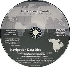 GM Navigation DVD Map Update 14.3 23286667