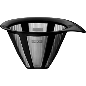 Bodum Stainless Steel Pour Over Spare Permanent Filter, 17 Oz