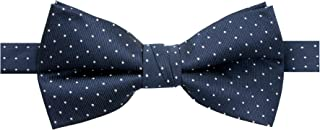 Men's Microfiber Dotted Bow Tie