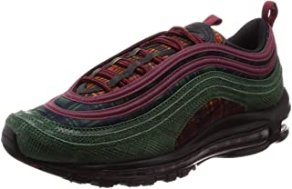 Nike Air Max 97 NRG Men's Running Shoes Team Red/Midnight Spruce at6145-600