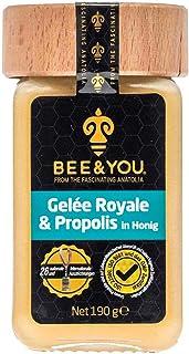 Bee&You Gelee Royale & Propolis in Honig Roher Honig, Fairer Handel, Natürliche & kontrollierte Zutaten