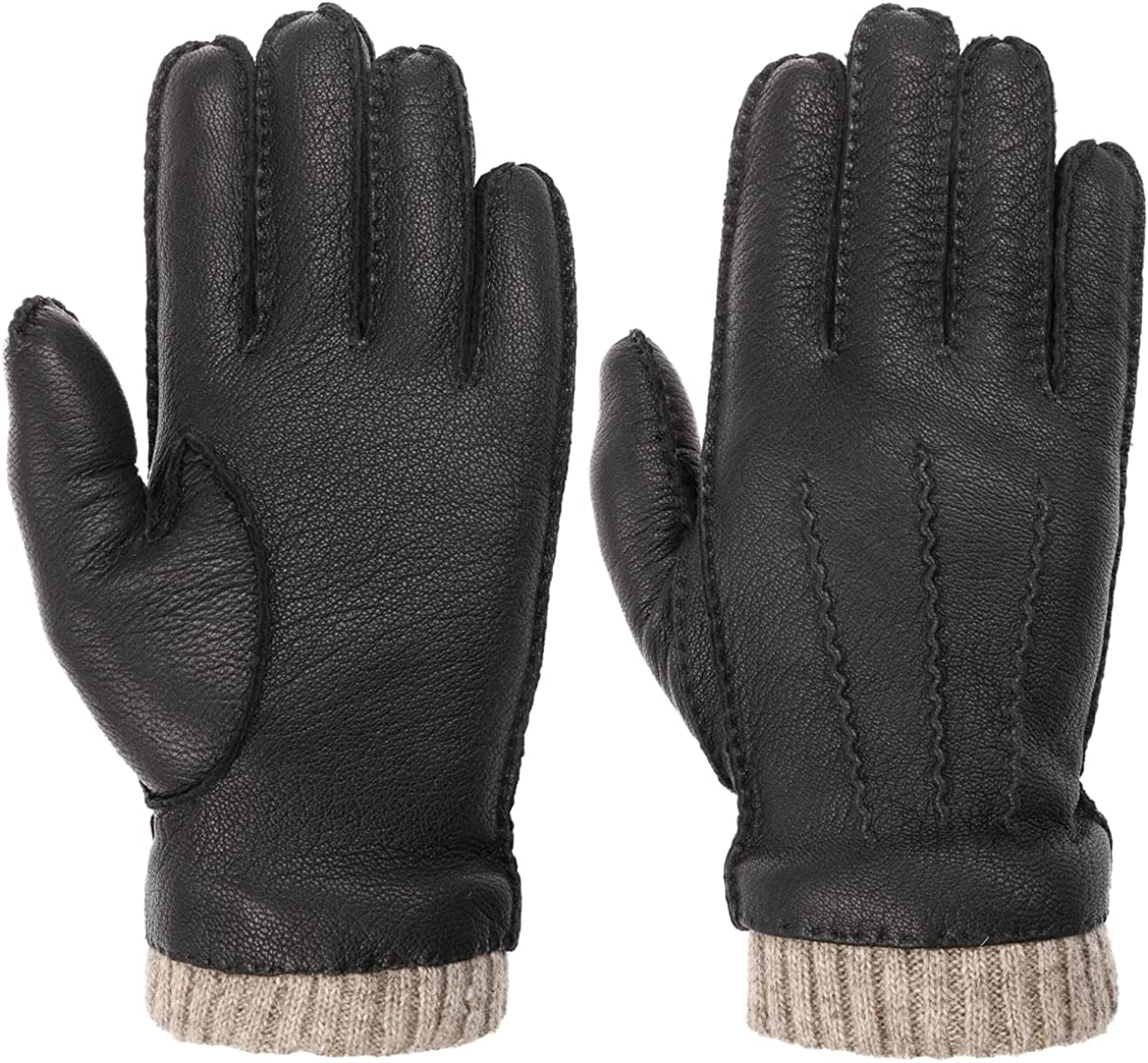 Columbus Mall Lipodo Leather shop Gloves with Wool - Lining Men