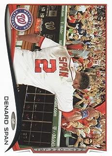 2014 Topps Series 2 Baseball #651 Denard Span Washington Nationals Official MLB Trading Card
