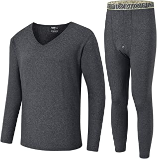 Men's Thermal Underwear Set Ultra Soft Fleece Long Johns