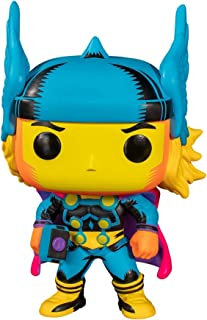 Funko Pop! Marvel: Black Light- Thor (Exc), Action Figure - 48847