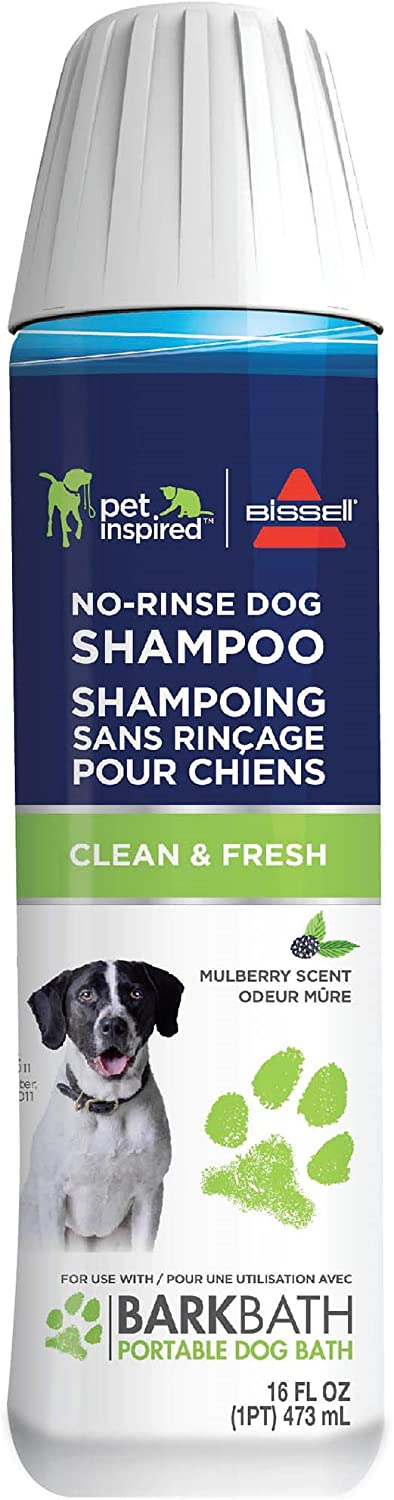 Daily bargain sale Bissell No-Rinse Dog Shampoo 2-Pack for Max 41% OFF BARKBATH