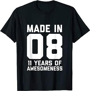 11th Birthday Shirt Boys Girls 11 Year Old Daughter Son Gift