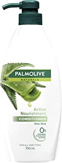 Palmolive Naturals Hair Conditioner 700mL, Active Nourishment with Aloe Vera, For All Hair Types, No Parabens Phthalates o...