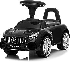 Kidzone Kids Push and Ride Racer, Licensed Mercedes AMG GT Ride On Push Car w/ Horn, Engine Sound, Under Seat Storage, Foo...