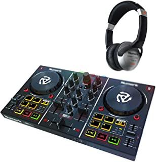 LY1122 for Numark Party Mix for Partymix for Serato LE DJ Controller w Built In Lightshow+Headphone