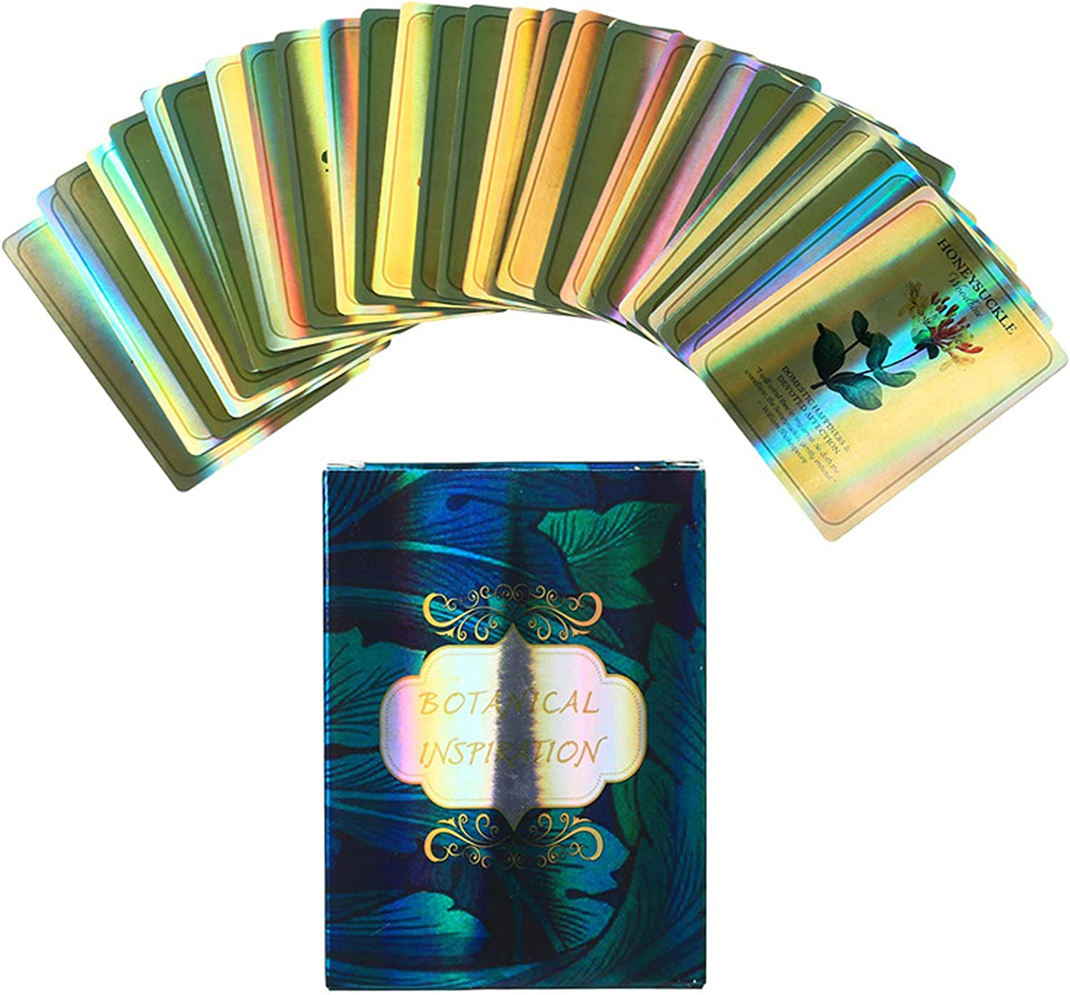 70% OFF Outlet Yitengteng Holographic Tarot Cards Inspirat Botanical Apocalypse At the price of surprise