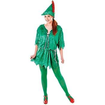 peter Pan (Female) (disfraz): Amazon.es: Juguetes y juegos