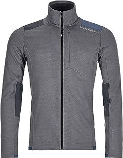 ortovox men's merino fleece jacket