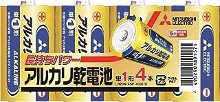 良いおすすめ三菱電気アルカリ乾電池シングルタイプ4パックLR20N / 4SPと2021のレビュー