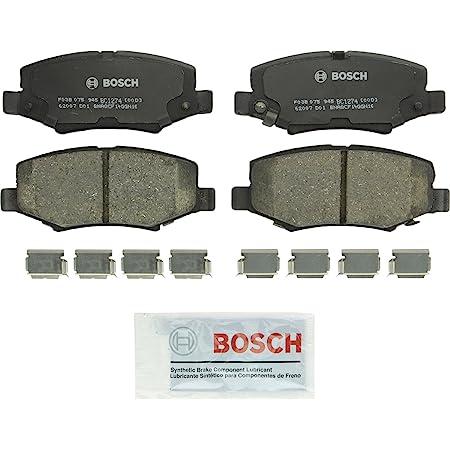 with Installation Hardware Front Bendix CFM1098 Premium Copper Free Semi-Metallic Brake Pad