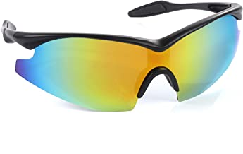Bell+Howell TACGLASSES One-Size-Fits-All Polarized Sports Sunglasses for Men/Women, Unisex, Military Eyewear As Seen On TV
