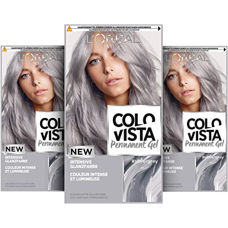 Haarfarbe permanente lange wie hält Haarfarben grautöne