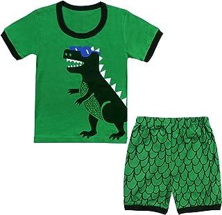 Qtake Fashion - Pijama para niños de 1 a 12 años, motivo