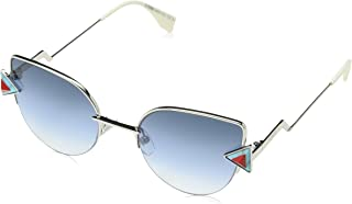 Fendi Sunglasses For Women Alloy Blue