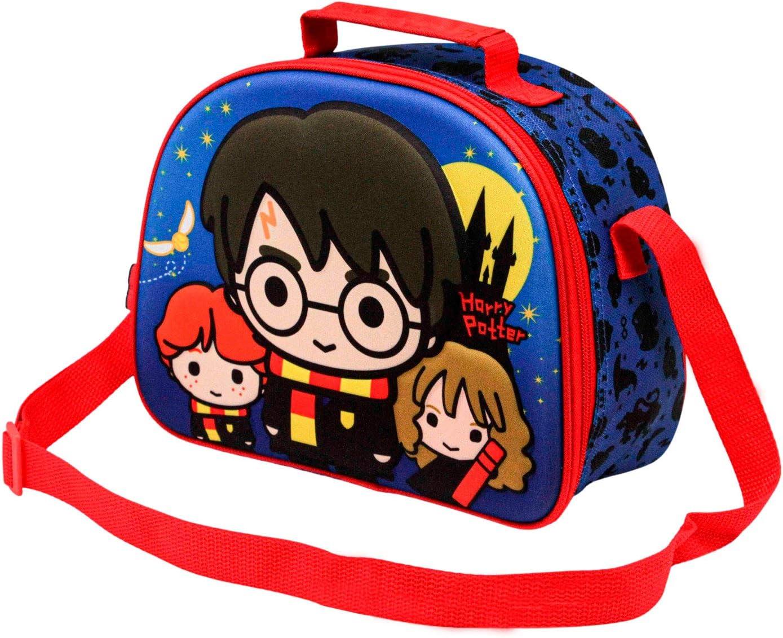 KARACTERMANIA Harry Potter Castle - Bolsa Portameriendas 3D, Multicolor