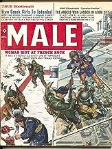 Male 4/1960-Atlas-Mort Kunstler-James Bama-Bruce Minney-pulp thrills-cheesecake-VG
