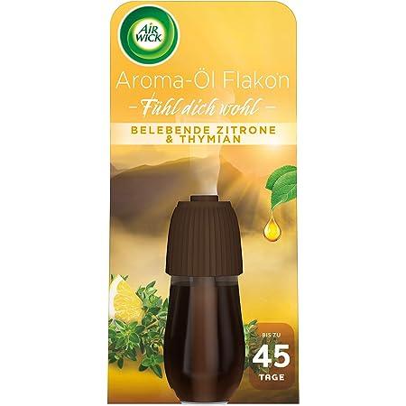 3x Air Wick Aroma-/Öl Flakon Apfel/&Zimt je 20 ml Nachf/üller f/ür Air Wick Diffuser