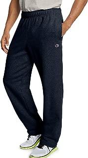 Men`s Powerblend Fleece Open Bottom Pants