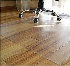 Transparent floor mat PVC Chair Mat scuff resistant wood floor protection mat waterproof non-slip foot pad Multiple Sizes ...