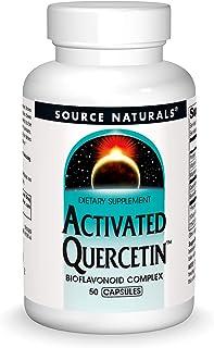 Source Naturals Activated Quercetin - Plant-Derived Bioflavonoid Complex - Seasonal & Immune Defense - 50 Capsules